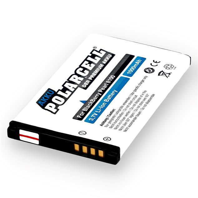 PolarCell Li-Ion Replacement Battery for BlackBerry Pearl 8100