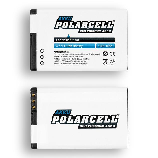 PolarCell Li-Ion Akku für Bea-Fon S35i
