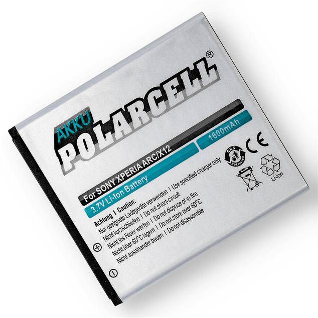 PolarCell Li-Ion Replacement Battery for Sony Ericsson Xperia Arc (LT15i)
