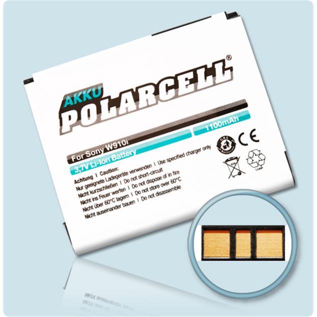 PolarCell Li-Ion Akku für Sony Ericsson W910i
