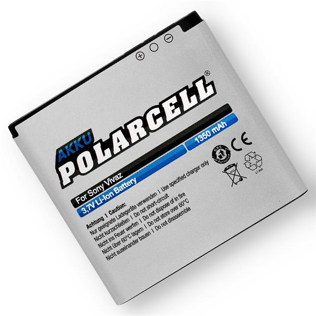 PolarCell Li-Ion Replacement Battery for Sony Ericsson Vivaz (U5i)