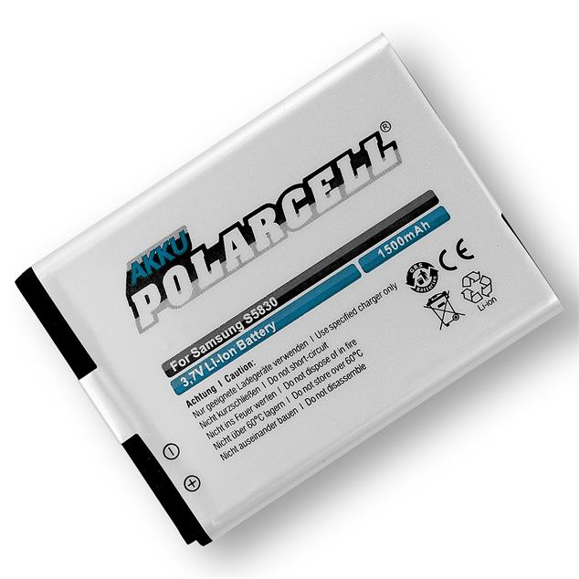 PolarCell Li-Ion Replacement Battery for Samsung Galaxy Ace (GT-S5830)