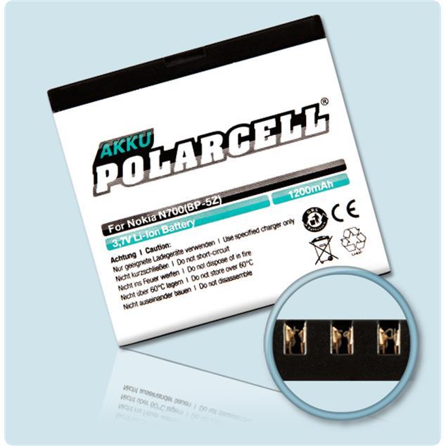 PolarCell Li-Ion Akku für Nokia 700
