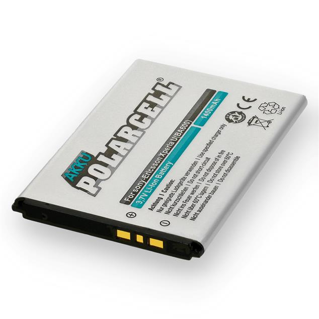 PolarCell Li-Ion Replacement Battery for Sony Xperia U (ST25i)