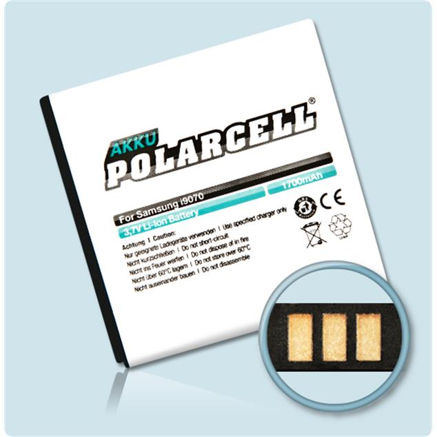 PolarCell Li-Ion Replacement Battery for Samsung Galaxy S Advance (GT-i9070)