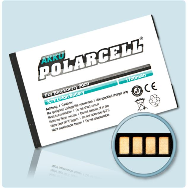 PolarCell Li-Ion Akku für BlackBerry Bold 9000