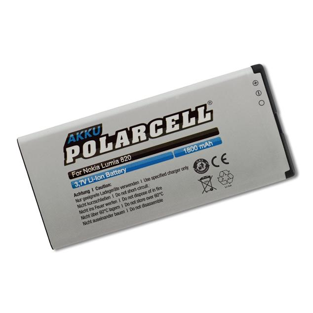 PolarCell Li-Ion Akku ersetzt Originalakku Nokia BP-5H