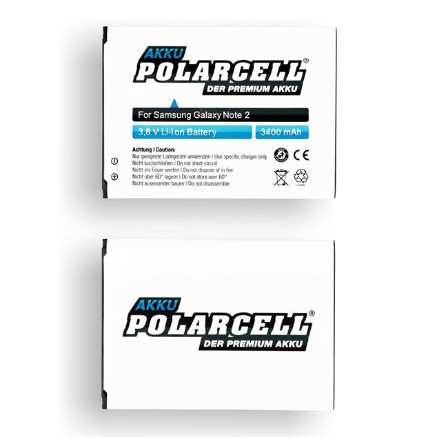 PolarCell Li-Ion Replacement Battery for Samsung Galaxy Note 2 (GT-N7100)