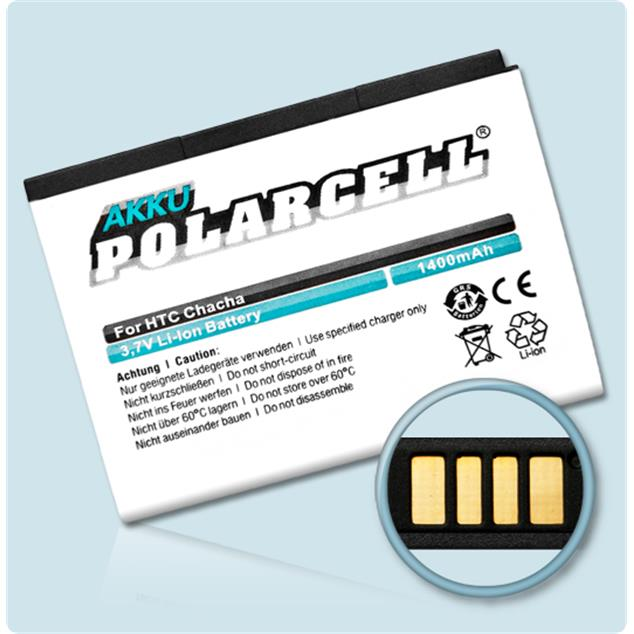PolarCell Li-Ion Replacement Battery for HTC ChaCha (A810 - A810e)
