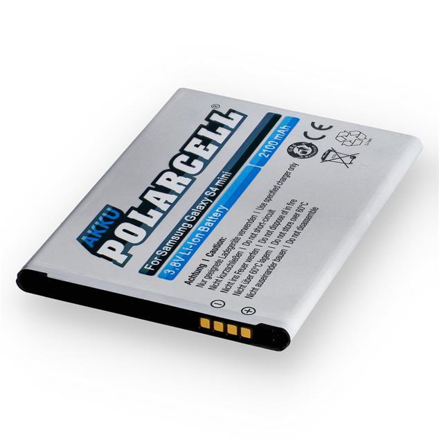PolarCell Li-Ion Akku für Samsung Galaxy S4 mini (GT-i9190)