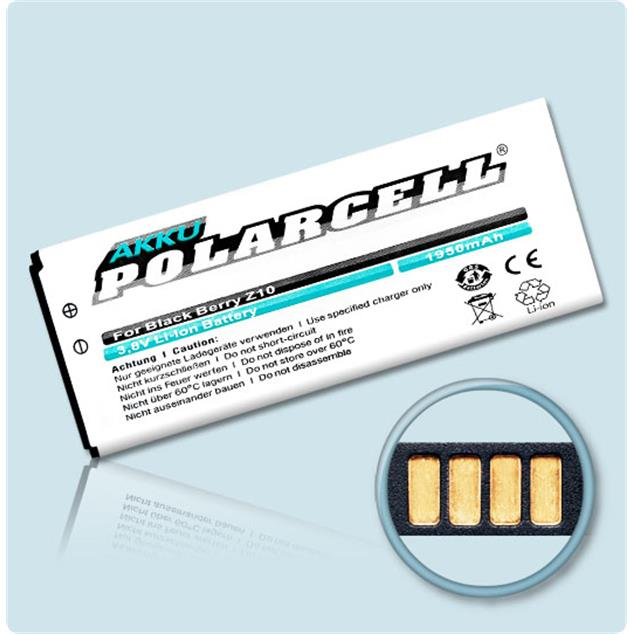 PolarCell Li-Ion Replacement Battery for BlackBerry Z10 | Z10 LTE