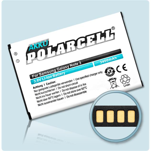 PolarCell Li-Ion Replacement Battery for Samsung Galaxy Note 3 (GT-N9000)