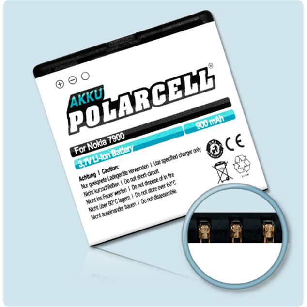 PolarCell Li-Ion Akku für Nokia 7900 Prism | Crystal Prism