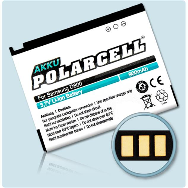 PolarCell Li-Ion Replacement Battery for Samsung SGH-D800