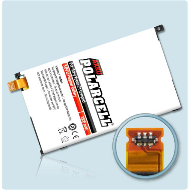 PolarCell Li-Polymer Replacement Battery for Sony Xperia Z1 Compact (D5503)