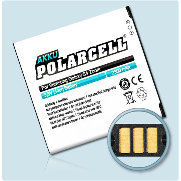 PolarCell Li-Ion Replacement Battery for Samsung Galaxy S4 Zoom (SM-C101)