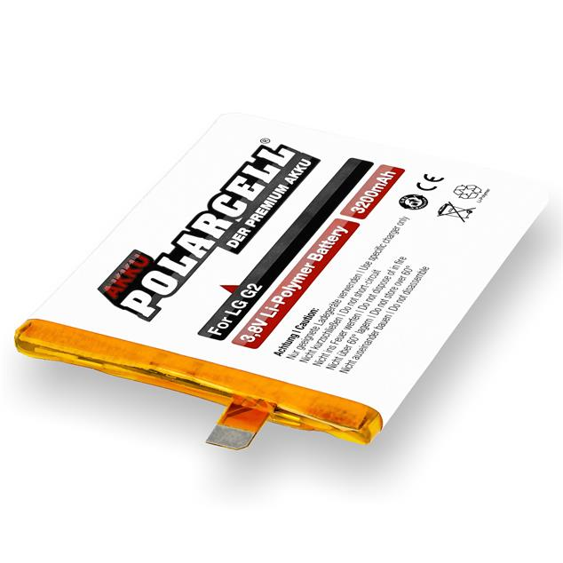 PolarCell Li-Polymer Replacement Battery for LG G2 (D800)