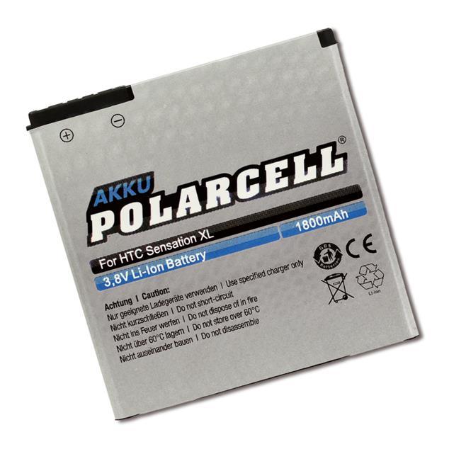 PolarCell Li-Ion Akku für HTC Sensation XL (X315e)