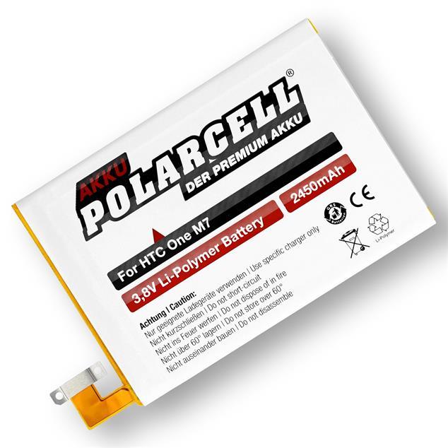 PolarCell Li-Polymer Akku für HTC One M7 (801n)