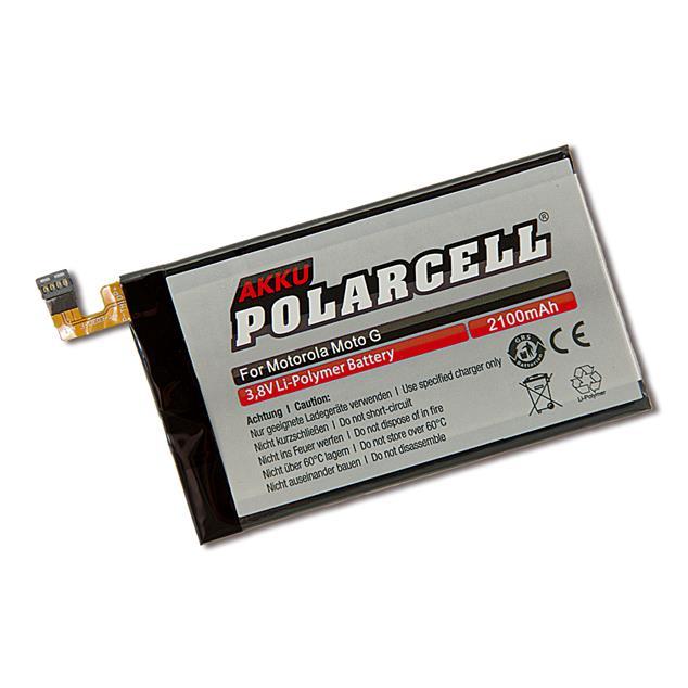 PolarCell Li-Polymer Replacement Battery for Motorola Moto G (XT1032)