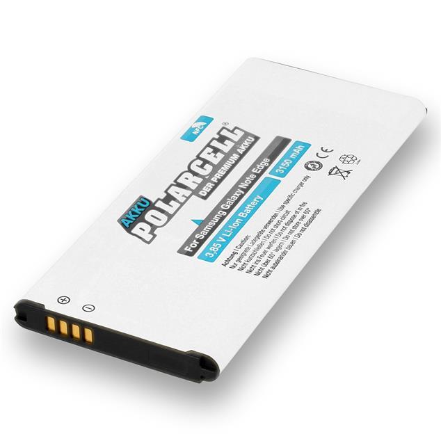 PolarCell Li-Ion Akku für Samsung Galaxy Note Edge (SM-N915F) - inkl. NFC-Antenne