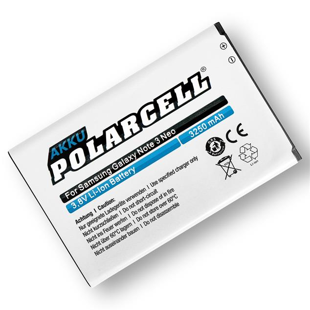 PolarCell Li-Ion Akku für Samsung Galaxy Note 3 Neo (SM-N7505)