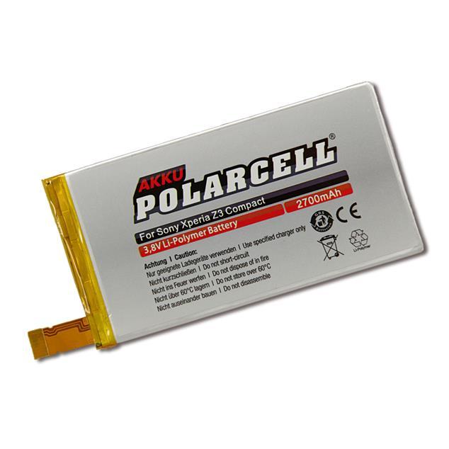 PolarCell Li-Polymer Akku für Sony Xperia Z3 Compact (D5803)