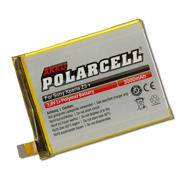 PolarCell Li-Polymer Replacement Battery for Sony Xperia Z3+ (E6553)