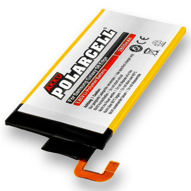 PolarCell Li-Polymer Replacement Battery for Samsung Galaxy S6 Edge (SM-G925F)