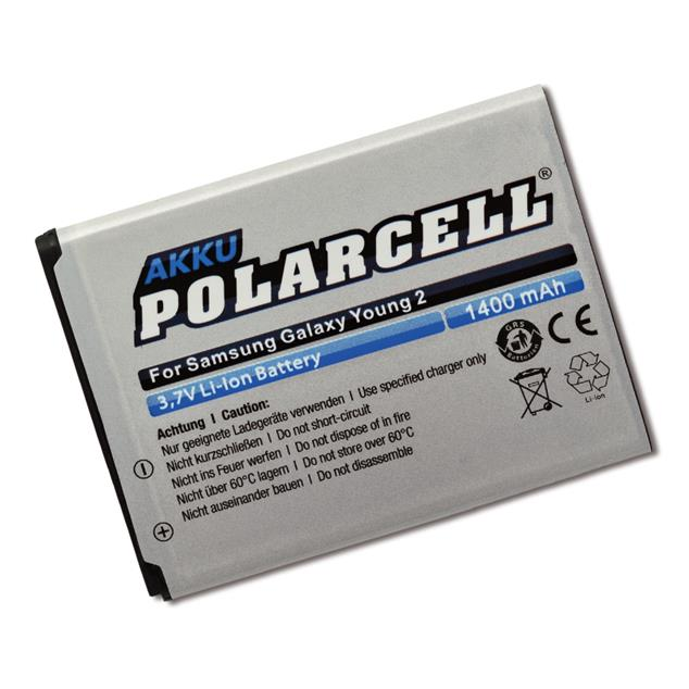 PolarCell Li-Ion Replacement Battery for Samsung Galaxy Young 2 (SM-G130HN)