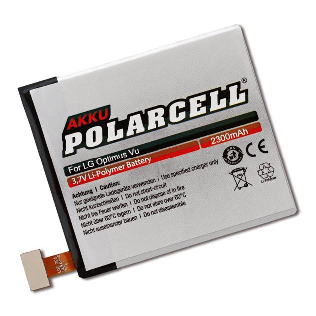 PolarCell Li-Polymer Replacement Battery for LG Optimus Vu (P895)