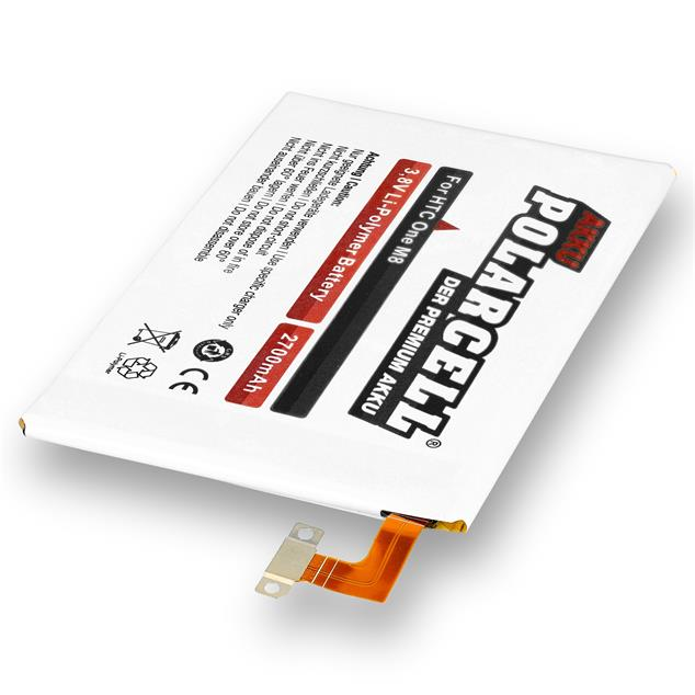 PolarCell Li-Polymer Replacement Battery for HTC One M8