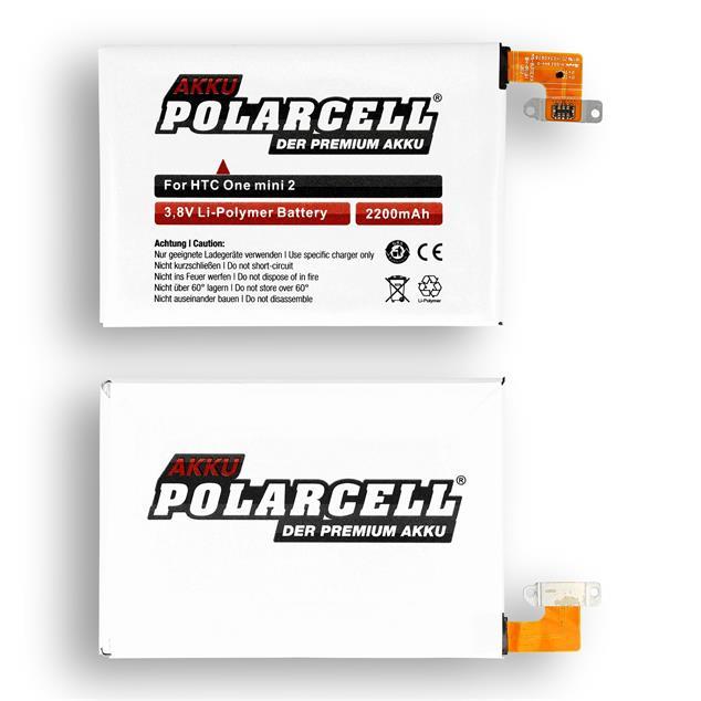 PolarCell Li-Polymer Akku für HTC One mini 2 (M5)