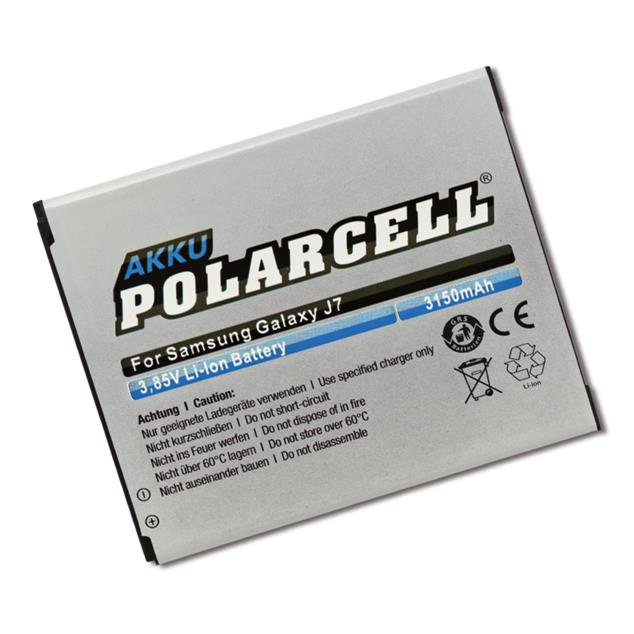 PolarCell Li-Ion Replacement Battery for Samsung Galaxy J7 (SM-J700F)