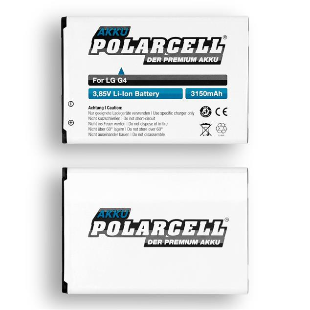 PolarCell Li-Ion Replacemant Battery for LG G4 (H815)
