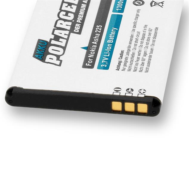 PolarCell Li-Ion Replacement Battery for Nokia Asha 225 | 225 Dual Sim