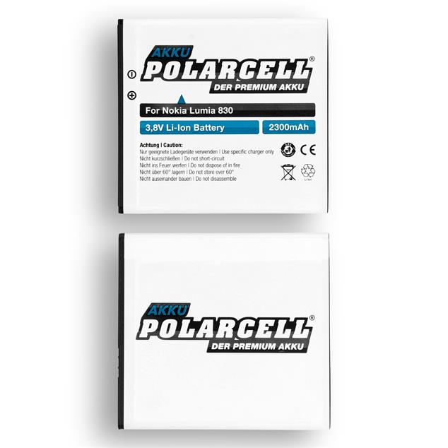 PolarCell Li-Ion Replacement Battery for Nokia Lumia 830