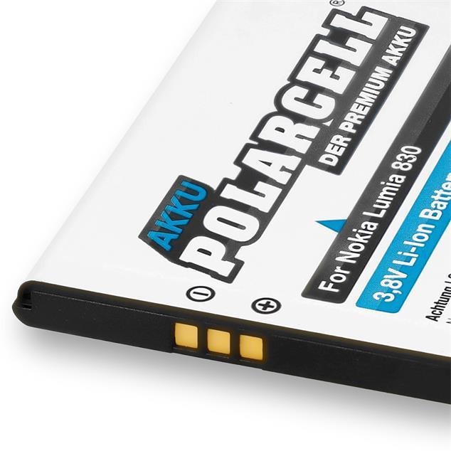 PolarCell Li-Ion Akku für Nokia Lumia 830