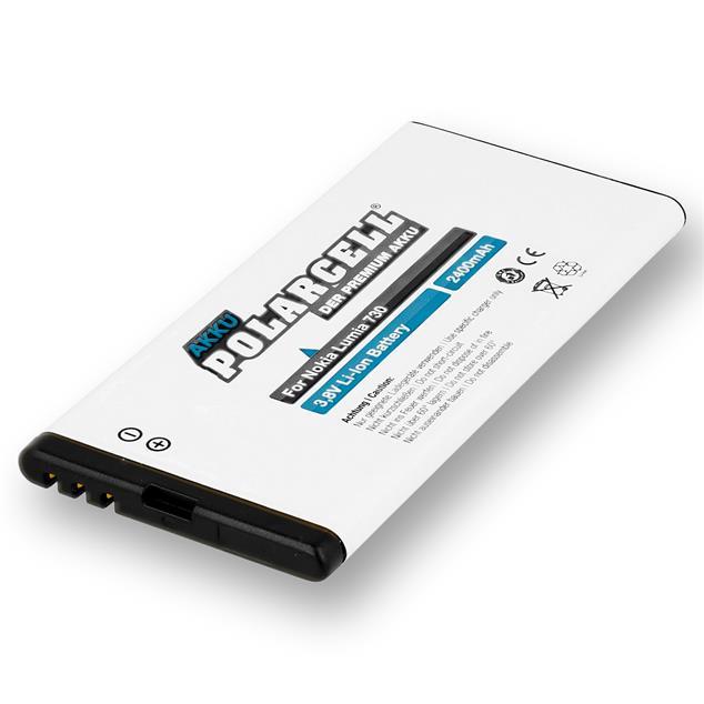 PolarCell Li-Ion Akku ersetzt Originalakku Microsoft BV-T5A