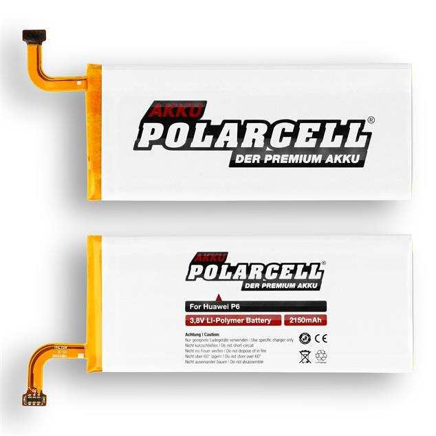 PolarCell Li-Polymer Replacement Battery for Huawei Ascend P7 Mini