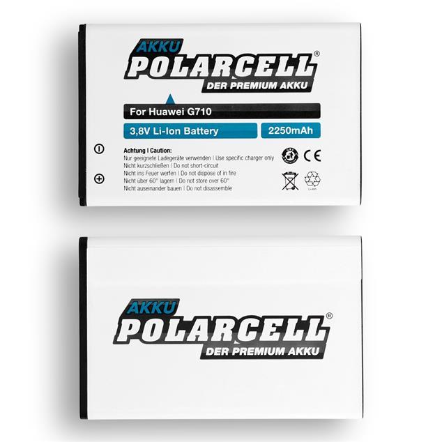 PolarCell Li-Ion Akku für Huawei Ascend G610