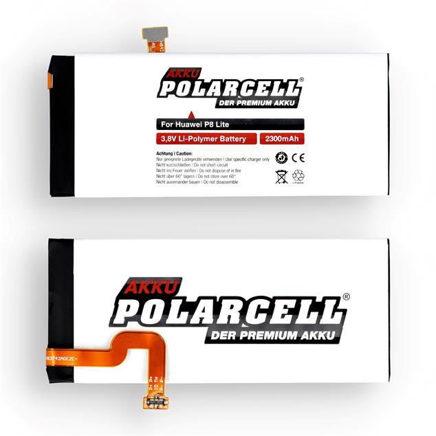 PolarCell Li-Polymer Akku für Huawei Ascend P8 Lite (2015)