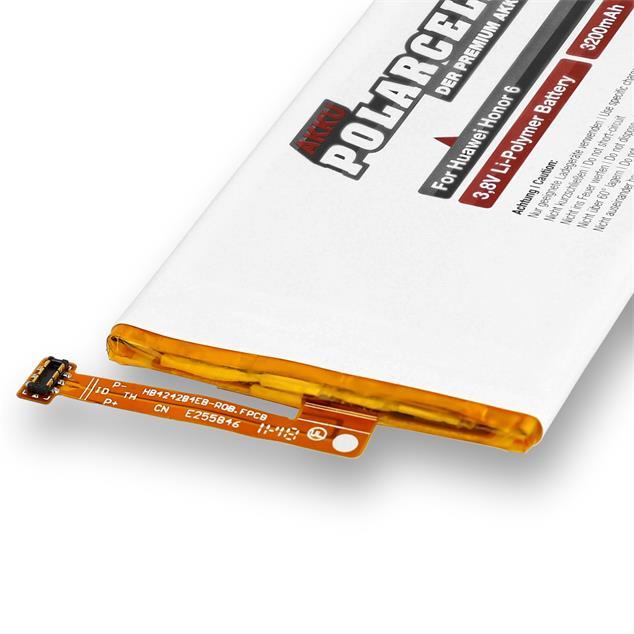 PolarCell Li-Polymer Battery replaces original Huawei HB4242B4EBW