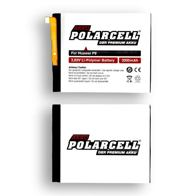 PolarCell Li-Polymer Battery replaces original Huawei HB366481ECW-11