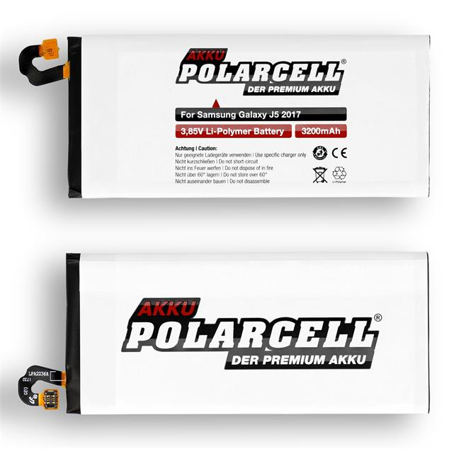 PolarCell Li-Polymer Replacement Battery for Samsung Galaxy J5 2017 (SM-J530F)