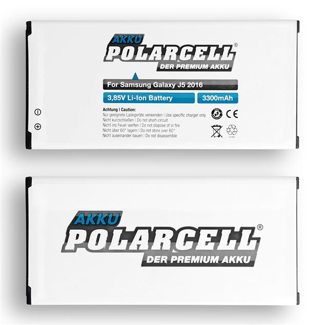 PolarCell Li-Ion Replacement Battery for Samsung Galaxy J5 2016 (SM-J510F)