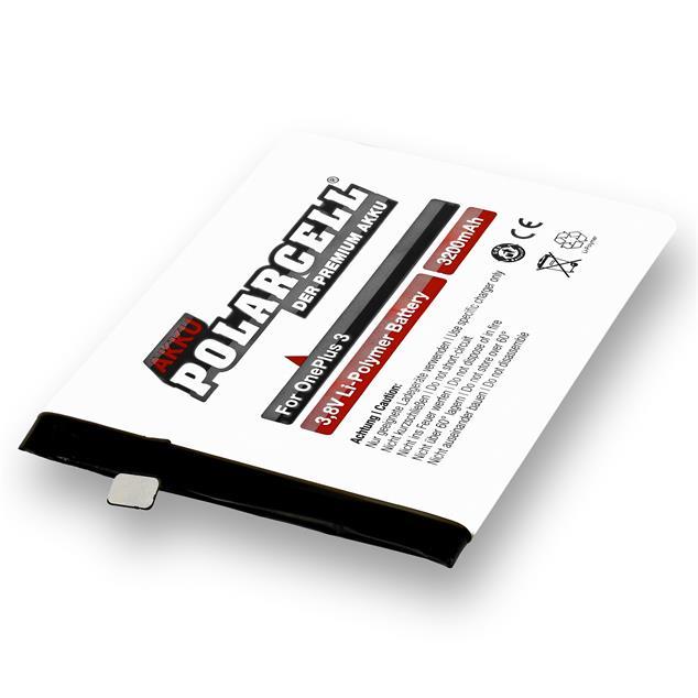 PolarCell Li-Polymer Battery replaces original OnePlus BLP613