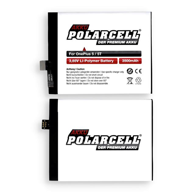 PolarCell Li-Polymer Replacement Battery for OnePlus 5 Dual Sim