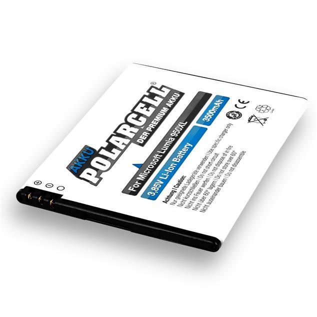 PolarCell Li-Ion Akku für Microsoft Lumia 950XL | 950XL Dual Sim
