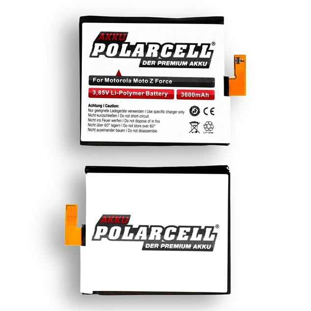 PolarCell Li-Polymer Replacement Battery for Motorola Moto Z Force (XT1650-02)